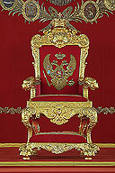 The Restored Large Imperial Throne Officially Presented