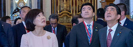 Visit to the Hermitage by Shinzō Abe, Prime Minister of Japan