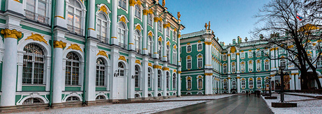 Restoration of the Façades in the Great Courtyard of the Winter Palace Completed