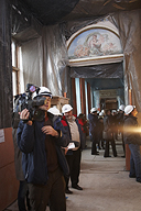 Press Tour of the East Wing of the General Staff Building.  Interim results of the restoration of the 2nd construction stage