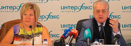 Press Conference at Interfax