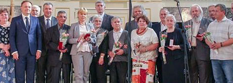 Awards for State Hermitage Restorers