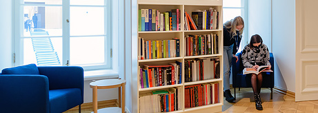The Open Library on Art in the General Staff Building of the State Hermitage