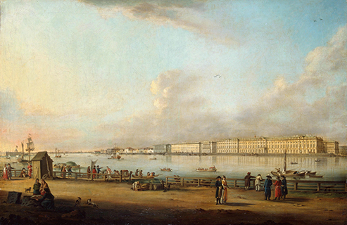 1754-1762 The Construction of the Winter Palace