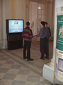 Presentation of the project Multimedia informational complex for the visitors of the State Hermitage Museum