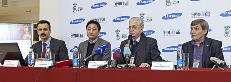 State Hermitage Museum and Samsung Electronics: New Plans for Cooperation