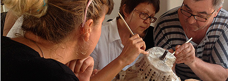 Practical Seminar on the Restoration and Conservation of Stone Artefacts at Chersonesus